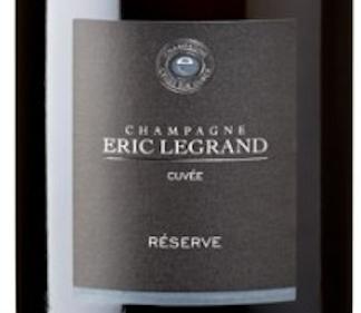Champagne Eric Legrand Réserve Brut